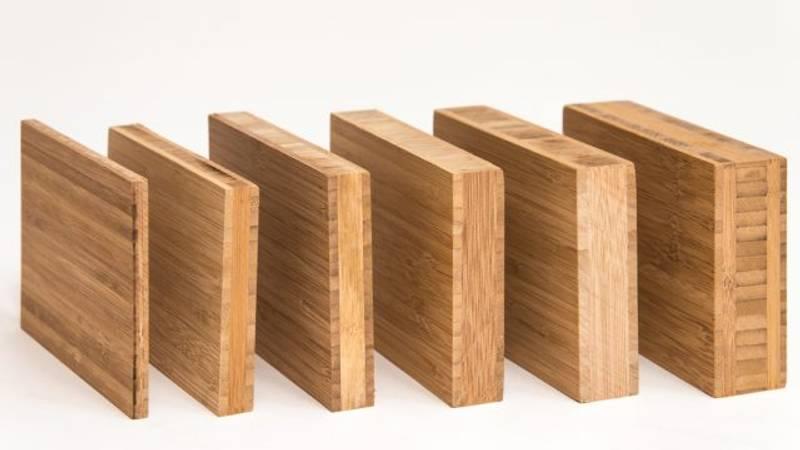 Benkeplate Bambus Vertikal Caramel 40x630x4000mm